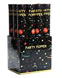 12 x XL Party Popper 40cm Konfetti Shooter 5-8 Meter Schussweite