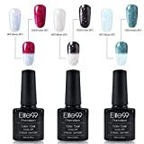 Elite99 thermo nagellack UV nagellack gel shellac set nagellack nail polish set soak off gel thermo gel (1xStück 10ML)