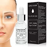 Anti Ageing Eye Serum,Anti Wrinkle Cream,Anti Wrinkle Eye Cream, Für dunkle Kreise & Puffiness - das beste Anti Falten Eye Serum - reduziert Falten, Taschen, Saggy Skin & Puffy Eyes! Große Augenbehandlung für alle Arten von Haut.