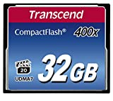 Transcend Extreme-Speed 400x 32GB Compact Flash Speicherkarte