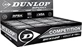 3x Dunlop Squash Balls 'Competition' yellow