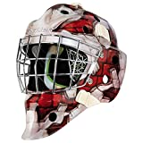 Bauer Goaliemaske NME 4 Wall RED - Youth, Farbe:Rot (Red)