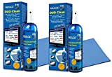 ROGGE DUO-Clean Original 'DoppelSet', 2x 250ml LCD - TFT - LED - TV - Touch Displays + Plasma Screen Cleaner + 2x ROGGE Prof. Microfasertücher 38x40cm. The Original since 1998. Made in GERMANY