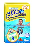 Schwimmwindeln Huggies Little Swimmers Gr.2/3 (12er Pack)
