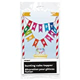 Rainbow Wimpelkette 'Birthday Kuchen Topper