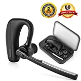 [Neu Version] Beshoop Bluetooth Headset V4.1 Kopfhörer Stereo In Ear Ohrhörer mit Mikrofon, einseitiges Bluetooth Headset für iPhone 7 6 6S 6 Plus 6S Plus 5S 5 5C 4S, Samsung Galaxy S6 S6 Edge S5 S4 Mini