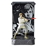 Star Wars Black Series 40th Jahrestag (Anniversary): Luke Skywalker Titanium Series (Die Cast) Druckguss Action Figur