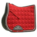 Schockemöhle Sports Schabracke AIR COOL PAD STYLE Springen, rot, Gr. WB, quick-dry (Ruby Red)