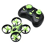 Eachine E010 Mini 2.4G 4CH 6 Axis Headless Mode RC Quadcopter RTF (Green-Black)