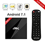 H96 Pro Plus Smart Android 7.1 TV BOX mit 3GB RAM 32GB ROM Amlogic S912 Octa Core Prozesser 64 Bits with BT 4.1 Unterstützung 4K * 2K @ 60Hz 4K Ultra HD, H.265,Dual WIFI 2.4GHz/5.0GHz
