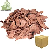 Wood Chips Kirsche Cherry Wood 1,5 kg- 7 Liter Räucherchips für Grill und Smoker BBQ