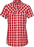 Jack Wolfskin MARA SHIRT WOMEN red fire checks