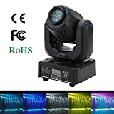 Lixada 30W 8 / 12 Kanäle DMX512 Moving Head Klangregelung Automatisch Rotierenden LED Bühne Muster Lampe für KTV Disco Club Party