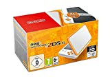 New Nintendo 2DS XL Weiß + Orange
