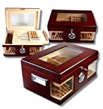 Wood Wonderful Kristallglas Humidor V-1320