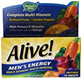 Nature's Way, Alive!, Herrenschuhe Energie Multivitamin · Multimineral, 50 Tabletten