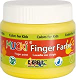 Mucki 23111 Fingerfarbe, 150 ml, braun