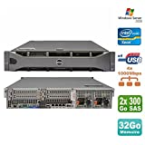 Server RACKABLE 2U Dell PowerEdge R710 Bi Xeon 36 GB 2 x SAS, Redundante