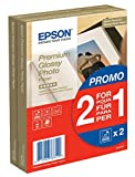 Epson Premium glossy photo paper inkjet 255g/m2 100x150mm 2x40 Blatt Pack