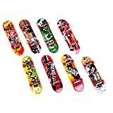 MagiDeal 1pc Mini Fingerskateboard Skateboard Finger Skateboard Kit