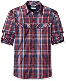 Columbia Herren Silver Ridge Plaid Long Sleeve Shirt Hemd, Collegiate Navy Plaid, XL