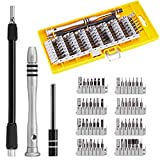 Schraubendreher Set, 60 in 1 Feinmechaniker Schraubendreher Satz mit 56 Bits Präzision Torx Schraubendreher Bit Set Screwdriver Kit Set für Handy iphone Laptop PC Tablet und andere Elektronik
