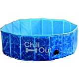 Hundepool - Chill Out Splash & Fun- Dog Pool Hundeswimmingpool Hunde Pool Swimmingpool S bis XL -EXTRA STABIL-