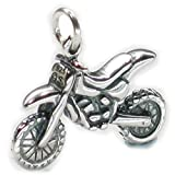 Dirt bike, 925 motocross Sterlingsilber DKC44173
