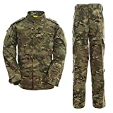 ALK Softair Paintball Camo Uniform Sets Jacket Hose multicam S