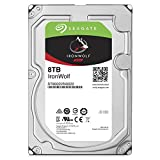 Seagate IronWolf 8 TB, ST8000VN0022, interne Festplatte, 8,9 cm (3,5 Zoll), 256 MB Cache, 7200 RPM, SATA 6 Gb/s
