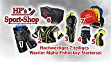 Warrior ALPHA Eishockey Starterset Senior zum Monsterpreis, Größe:L