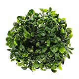 MMRM Plastic Kunstpflanzen Green Grass Ball-Lantern Foliage Home Office Dekoration