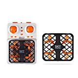 SainSmart Jr. Drone Quadcopter Mesh Drone 2.4G 4CH 6 Axis with Headless Mode RC Drone One Key Return , orange