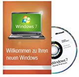 Windows 7 Home Premium 64 Bit MAR Version Hologramm DVD und COA