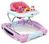 United Kids 902005 Baby Walker mit Wippfunktion plus Musik, rosa