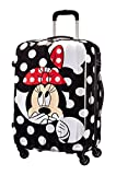 Disney by American Tourister Legends Spinner 65/24 Alfatwist Koffer, 65 cm, 52 Liter, Minnie Dots