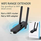 Booster Astarye WLAN Range Extender Wireless Access Point mit 2 externe Antennen Signal Booster Repeater