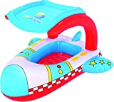 UV Careful Pool Float 102x97 cm, Kinderboot mit Sonnendach
