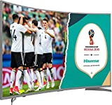 Hisense H49NEC6500 123 cm (49 Zoll) Curved Fernseher (Ultra HD, HDR10, Triple Tuner, Smart TV)