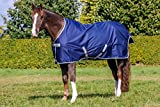 Bucas Freedom Turnout Light Regendecke Weidedecke Modell 2014 Navy-Silber 155 cm