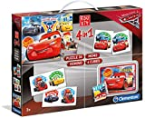 Clementoni 13710 Supercup Bausatz Cars 4 in 1
