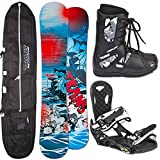 TRANS HERREN SNOWBOARD SET PIRATE 2015 ~ 156 CM + ECO BINDUNG L + BAG + BOOTS