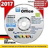 Open Office Paket 2017✔ PREMIUM für Windows 10 ® Windows 8 WIN 7 Vista XP ✔ Schreibprogram​me✔ ORIGINAL von STILTEC ©