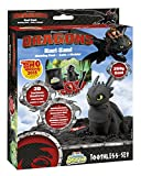 Craze 54728 - Magic Sand, Dreamworks Dragons Ohnezahn Set inklusiv Zubehör, 200 g, schwarz
