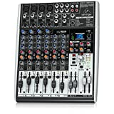 Behringer Xenyx X1204USB Mischpult mit USB-Audio-Interface (12-Kanal, 2/2 Bus)