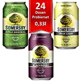 Somersby - Cider Probier-Set 4,5% - 24x0,33l Apple, Pear & Blackberry + Baltic Überraschung