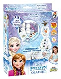 Craze 54209 - Magic Sand Frozen Olaf-Set. Ca. 200g Sand mit Glitzer
