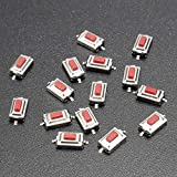 Bluelover 15Pcs 3x6x2.5MM Momentary Tact SMD SMT Drucktaster Mikroschalter 2 Pin