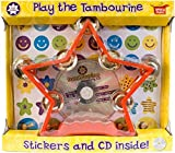 Tamburin-Set für Kinder: inklusive Instrument/Sticker