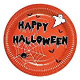 Susy Card 11421682 - Party-Teller 'Halloween' 23 cm, 6er Pack